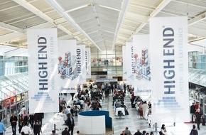 HIGH END SOCIETY SERVICE GmbH: Die HIGH END® als weltweite Leitmesse der Audiobranche findet vom 05.-08. Mai im MOC in München statt