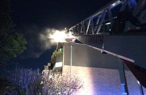 Feuerwehr Erkrath: FW-ME: Kaminbrand