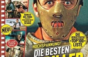 Bauer Media Group, TV Movie: TV Movie bietet Nervenkitzel ohne Ende / Zweite Ausgabe der Premium-Sammeledition zeigt die besten Thriller aller Zeiten
