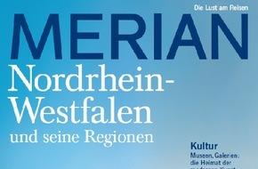 """Jahreszeiten Verlag, MERIAN: """"Urlaub an Rhein und Ruhr, in den Bergen und am Wasser"""" / NEU: MERIAN Nordrhein-Westfalen erscheint am 26. Februar 2015"""