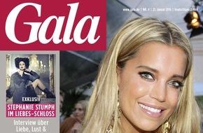 Gruner+Jahr, Gala: Stephanie Stumph möchte an roten Ampeln geküsst werden