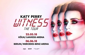 Katy Perry 2018 live in Deutschland / WITNESS: The Tour