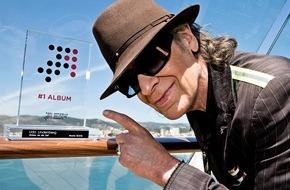 """GfK Entertainment GmbH: Udo Lindenberg erhält """"Nummer 1 Award der Offiziellen Deutschen Charts"""""""