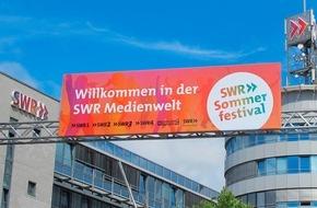 SWR - Südwestrundfunk: Der Sommer kann kommen / Drei Tage SWR Sommerfestival 2016 vom 8. bis 10. Juli 2016