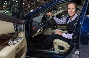 JAGUAR Land Rover Schweiz AG: Détenteur de multiples records du monde, Marcel Hug se déplace à bord d'une Jaguar