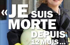 Swisstransplant: «Je suis mort...» - La campagne de Swisstransplant veut sensibiliser au don d'organe