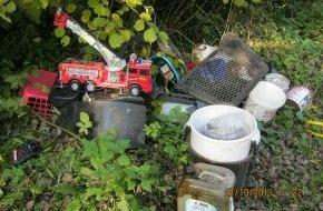 Polizeidirektion Flensburg: POL-FL: Schleswig - illegale Müll- & Altölentsorgung