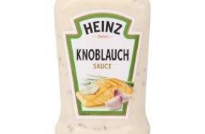 H.J. Heinz GmbH: Information zu Heinz Knoblauch Sauce, 220ml / Chargennummer 15103, MHD 04-2016, EPN-Code 71587703