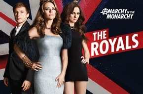 """ProSieben Television GmbH: Sex, Drugs und Liz Hurley! Ab 25. November sorgen """"The Royals"""" auf ProSieben für Anarchie in der Monarchie"""