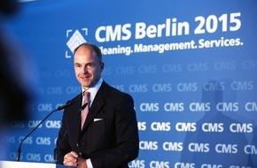 Messe Berlin GmbH: Statement Dr. Christian Göke, Vorsitzender der Geschäftsführung der Messe Berlin GmbH zur Eröffnung der CMS Berlin 2015