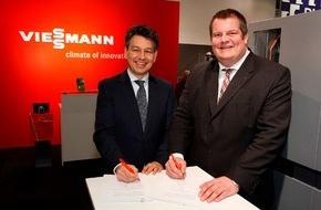 E.ON Energie Deutschland GmbH: Kooperationsvereinbarung zwischen Viessmann und E.ON / Förderung der Brennstoffzellen-Heiztechnik