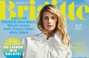"""Gruner+Jahr, BRIGITTE: Charlotte Gainsbourg """"hat vor allem Angst"""""""