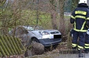 Feuerwehr Iserlohn: FW-MK: Verkehrsunfall