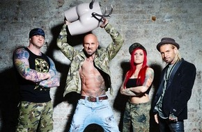 "sixx GmbH: Körperkunst statt Farbmassaker: ""Horror Tattoos"", Deutschlands erste Cover-up-Casting-Show, ab Mittwoch, 17. Juni 2015, um 20:15 Uhr, neu auf sixx"