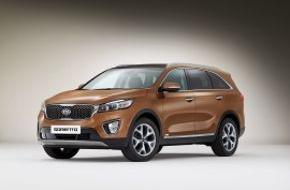 KIA Motors Deutschland GmbH: Pariser Autosalon: Neuer Kia Sorento* und überarbeitete Versionen von Kia Rio* und Kia Venga*