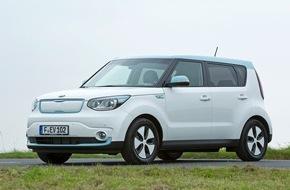 KIA Motors Deutschland GmbH: Kia unterstützt Elektroprämie und bietet Kia Soul EV* in neuer Einstiegsversion an: 24.890 Euro** inklusive Prämie