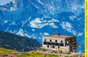 Wandermagazin SCHWEIZ: Wandermagazin SCHWEIZ: Die schönsten Wanderungen in der Ferienregion Heidiland