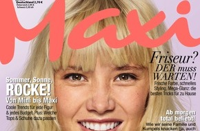 Bauer Media Group, Maxi: Jetzt in Maxi: Der Kampf gegen Lebensmittelverschwendung und für kulinarische Außenseiter