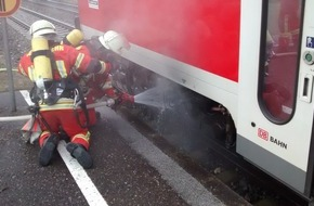Bundespolizeiinspektion Konstanz: BPOLI-KN: Brand am Regionalexpress in Welschingen