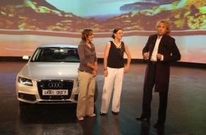 """Audi AG: """"Wetten, dass..?"""" dem Sport geholfen wird"""