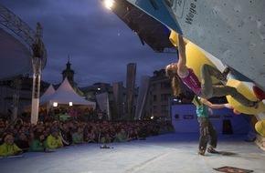 Innsbruck Tourismus: Europas größtes Boulder-Fest startet in Innsbruck