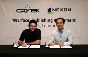 Crytek GmbH: Nexon und Crytek unterzeichnen Publishing-Vertrag für Warface® / Online FPS wird in Süd-Korea und Taiwan vermarktet und betrieben (mit Bild)