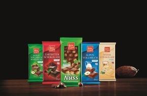 LIDL: Schokolade von Lidl jetzt mit Fairtrade- und UTZ-Zertifizierung / Fin Carré-Schokoladen werden mit zwei Zertifikaten für Nachhaltigkeit und fairen Handel ausgezeichnet