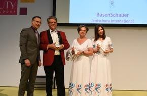 """Jentschura International GmbH: Das basische Duschgel """"BasenSchauer"""" der Marke P. Jentschura hat den Publikumspreis """"Wellness & Spa Innovation Award 2016"""" gewonnen / Die Auszeichnung wird vom Deutschen Wellness-Verband verliehen"""
