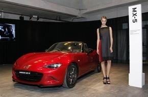 Mazda: Laufsteg IAA: Mazda präsentiert Kleid im KODO Design