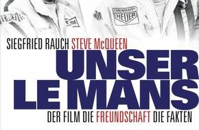 """AUTO BILD: Einladung zur Pressekonferenz: Buchvorstellung """"Unser Le Mans""""  mit Siegfried Rauch"""