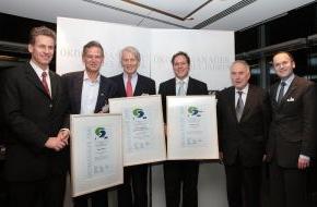 """Capital, G+J Wirtschaftsmedien: """"Ökomanager des Jahres"""" von WWF und 'Capital': Familienunternehmer Anton Wolfgang Graf von Faber-Castell und der CEO von Q-Cells, Anton Milner, sind die """"Ökomanager des Jahres 2008"""""""