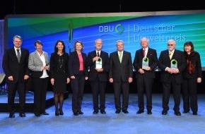 """Deutsche Bundesstiftung Umwelt (DBU): Gauck: """"Mit Beharrlichkeit, Ideenreichtum und Weitblick andere Menschen ermutigt"""""""