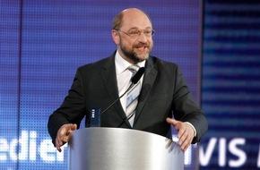 """SWR - Südwestrundfunk: Martin Schulz im SWR3 Interview: """"Vernunft in einigen europäischen Hauptstädten zurzeit im Urlaub"""" EU-Parlamentspräsident prangert mangelnde Solidarität der Mitgliedsstaaten an"""
