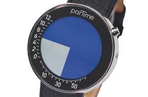 Partime Advision AG: Une montre graphique de Zurich voyage à travers le monde : Partime arrive à bord de Swiss International Airlines