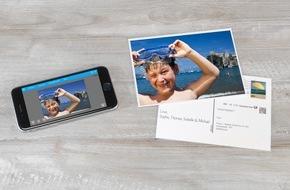 Pixum: Für die Urlaubsplanung: Mit der Pixum Postkarten App echte Postkarten vom Smartphone versenden