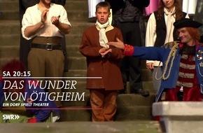 """Ötigheim: Ein Dorf lebt für die Bühne / SWR Dokumentarfilm """"Das Wunder von Ötigheim - Ein Dorf spielt Theater"""" / 90 Minuten / Samstag, 21. Januar 2017, 20:15 Uhr, SWR Fernsehen"""