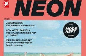 Gruner+Jahr, NEON: Bring NEON ins Dunkel: NEON zeigt sich neu, laut und meinungsstark