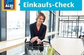 Unternehmensgruppe ALDI SÜD: Der Einkaufs-Check: ALDI SÜD führt Bewertungsportal für Kunden ein