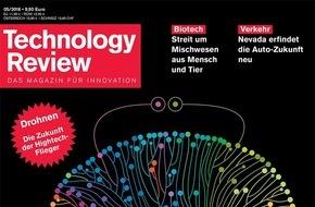 Technology Review: Technology Review prämiert junge Innovatoren / Innovative Konzepte, die die Zukunft prägen
