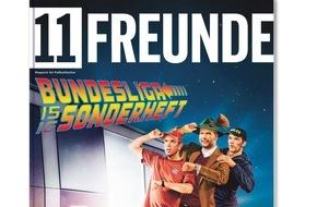 Gruner+Jahr, 11FREUNDE: 11FREUNDE startet in die neue Bundesliga-Saison 2015/16 / Bundesliga-Schwerpunktheft mit Pocketplaner und Spielplanposter / Neue Merchandise-Produkte im Shop