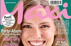 Bauer Media Group, Maxi: Der gepflegte Schwips - Maxi zeigt die besten Strategien, um Haltung zu bewahren