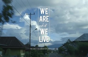 WE ARE WHAT WE LIVE: Lavazza präsentiert den neuen Kalender mit Fotografien von Denis Rouvre