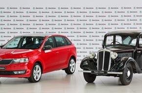 Skoda Auto Deutschland GmbH: Erfolg im Kompaktsegment: Bereits 500.000 SKODA Rapid produziert (FOTO)