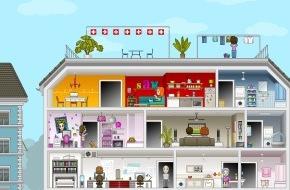 VSE / AES: AES: Idée de jeu lumineuse sur www.avenirelectricite.ch