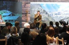 Tirol Werbung: Bergsommer Tirol - Die Tirol Werbung startet ihre neue Kampagne offiziell auf der ITB in Berlin
