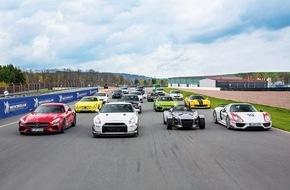 AUTO BILD: Sachsenring-Rekordtag: AUTO BILD SPORTSCARS: Rasante Rekordjagd auf Deutschlands traditionsreichster Rennstrecke