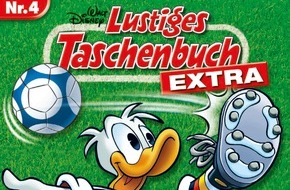 Egmont Ehapa Media GmbH: Entenhausen vor, noch ein Tor! - Die LTB-Familie holt den Pokal mit dem LTB Extra Nr. 4 und dem LTB 481