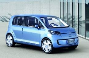 """VW / AMAG Automobil- und Motoren AG: Schweizer Premiere: Mit Studie """"VW Space Up!"""" in die Zukunft"""