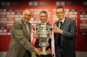VW / AMAG Automobil- und Motoren AG: Volkswagen wird Presenting Sponsor des Schweizer Fussball Cups