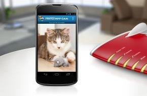 AVM GmbH: Neue FRITZ!App Cam für Android macht Smartphones und Tablets zur Webcam
